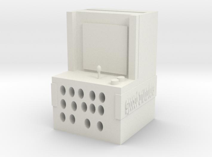 plastics phone arcade game speaker 3d printed