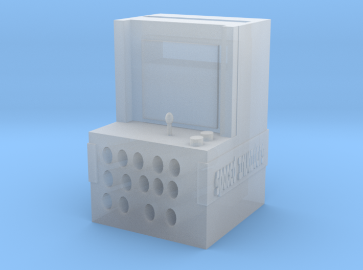 plastics phone arcade game speaker 3d printed