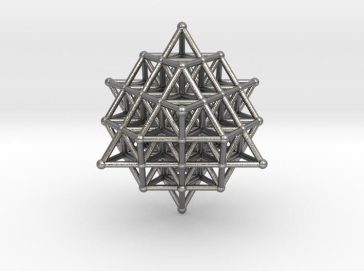 64 Tetrahedron Grid 45mm 3d printed