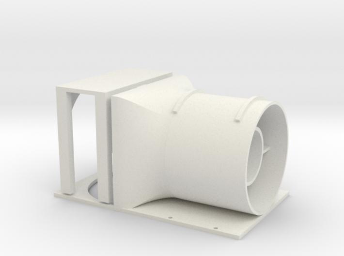 25mm EDF Micro Hawk fan assembly 3d printed