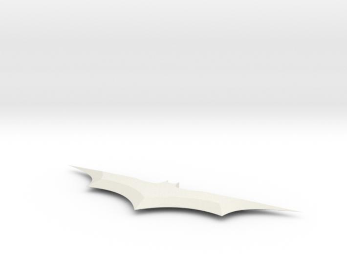 6 In Batarang 3d printed