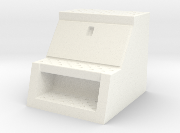 "1/50th Scale 24"" frame mount truck tool Box 3d printed"