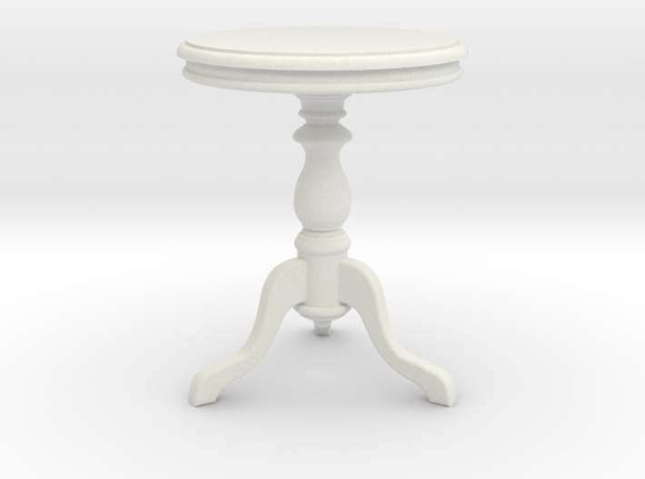 1:24 Wood Side table1 3d printed