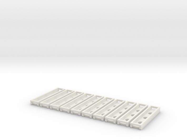 Rillengleis Abstandhalter 10x 3d printed