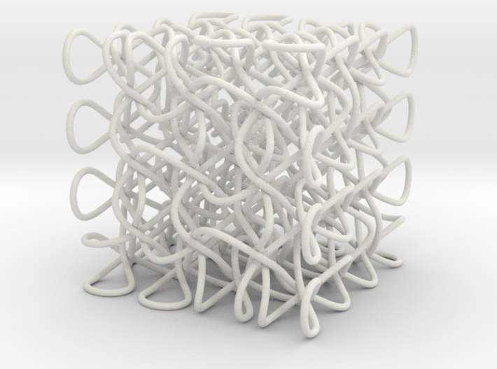 Celtic Knot 3D, seed 12 3d printed