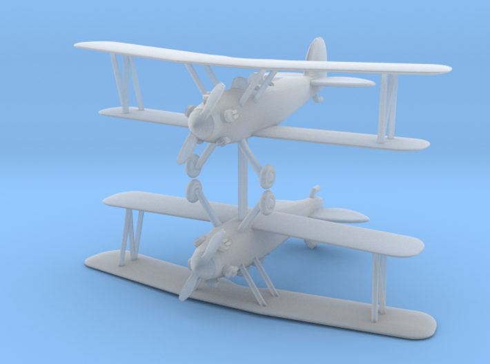 Biplane - Set of 2 - Nscale 3d printed