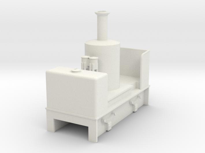 O9 vertical boiler loco 3d printed
