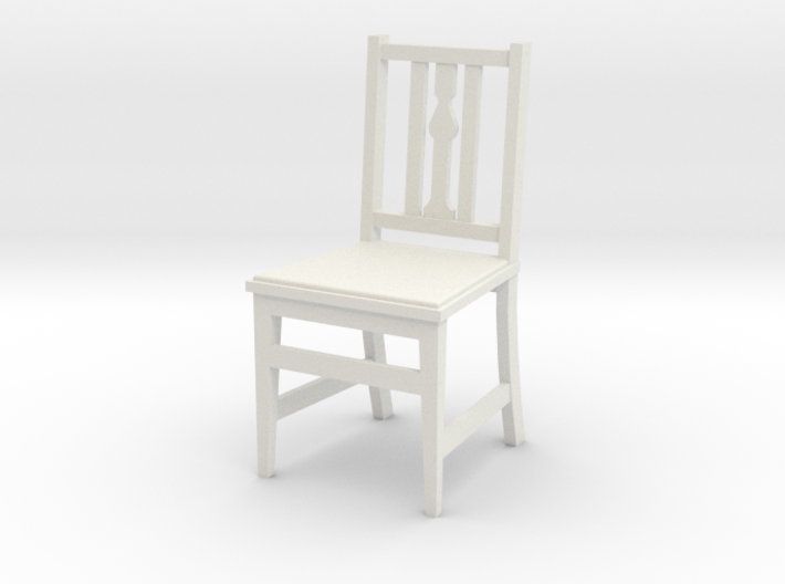 1:24 Arts & Crafts Chair, Low Back 3d printed