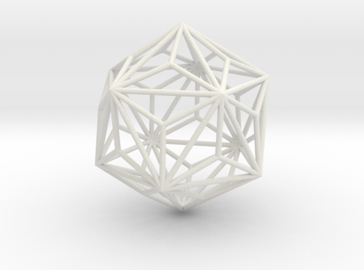 TriakisIcosahedron 70mm 3d printed