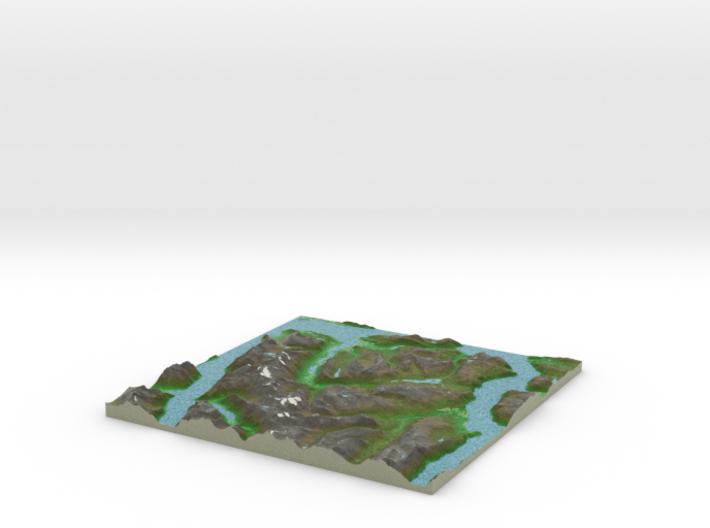 Terrafab generated model Mon Mar 10 2014 11:39:52 3d printed