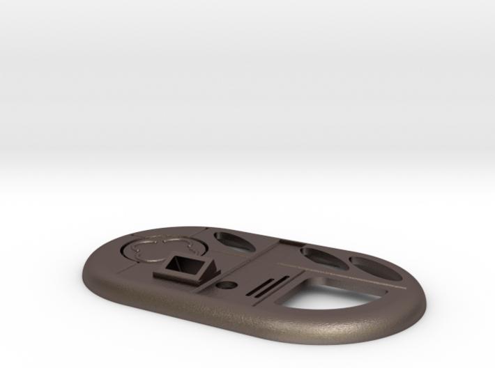 Vortex Manipulator with round button only Doctor W 3d printed