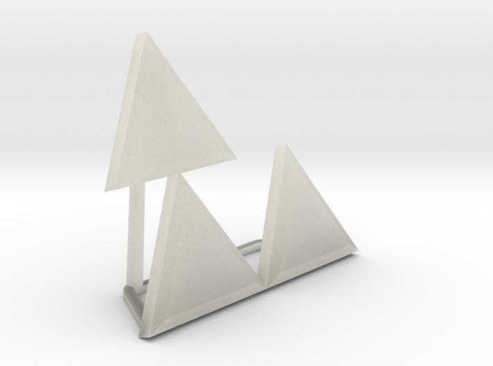 Triforce Meme 3d printed