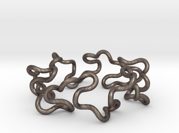 Curly Knot 3d printed