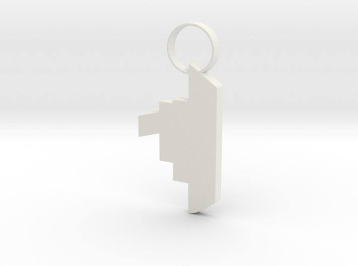 Toyboat Keychain 3d printed