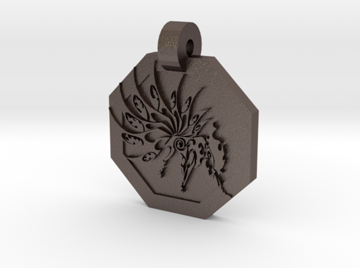 Ninetails Pendant 3d printed