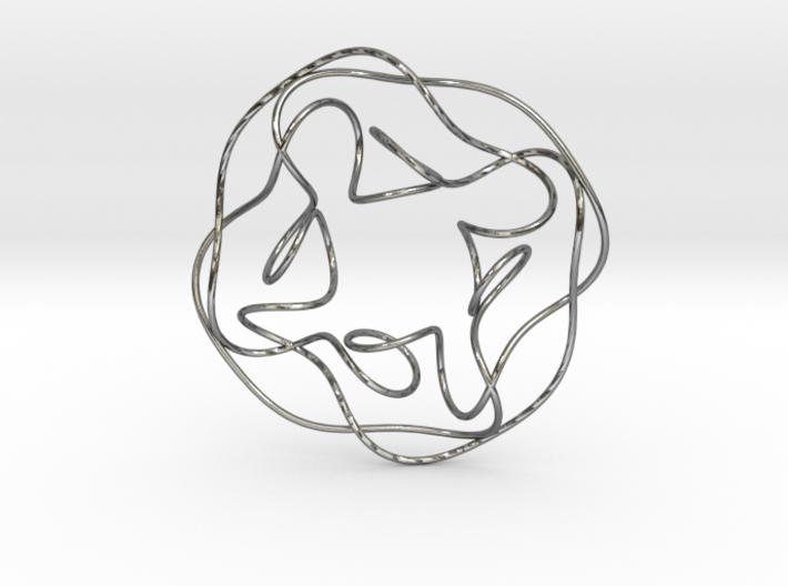 Quartic Knot 3d printed