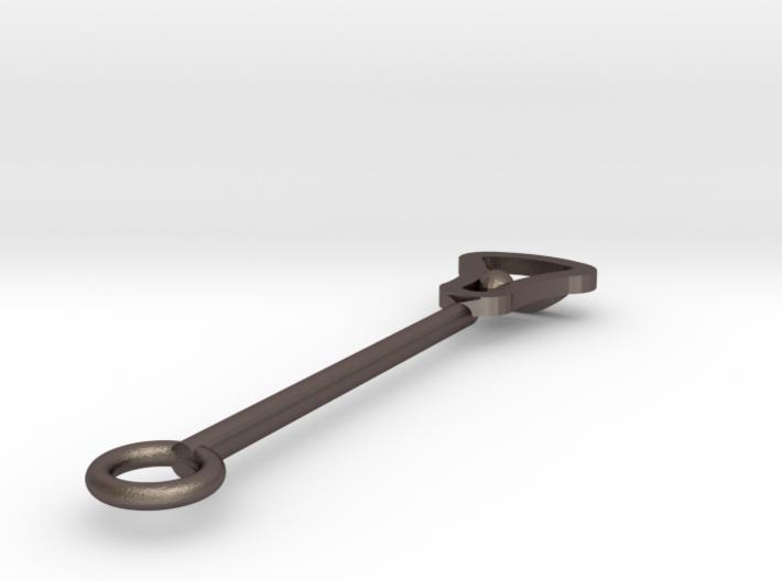 John Marshall Lax Stick - Steel 3d printed