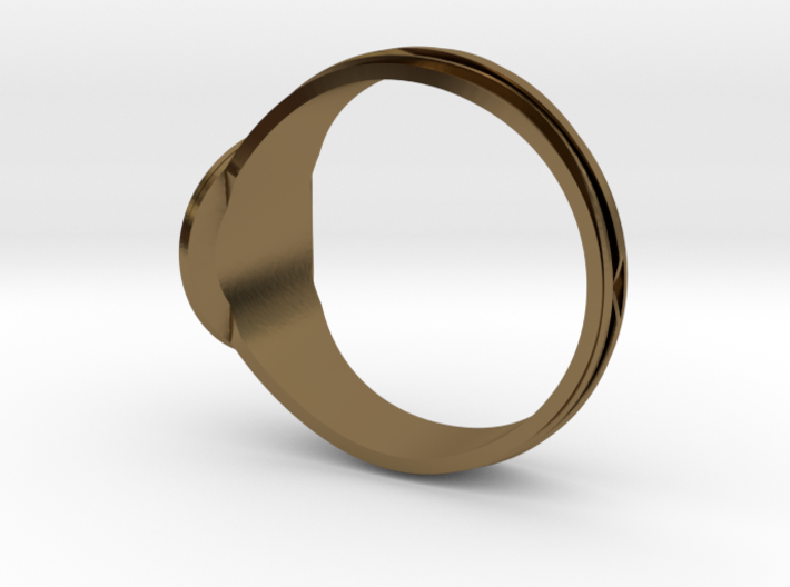 Christian Navigator Ring 3 3d printed