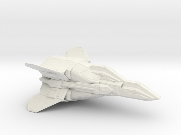 ANTARES HEAVY FIGHTER 1/72 3d printed