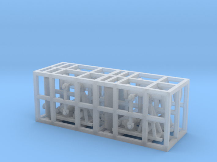 Oil Pumpjack - Set of 4 - Zscale 3d printed