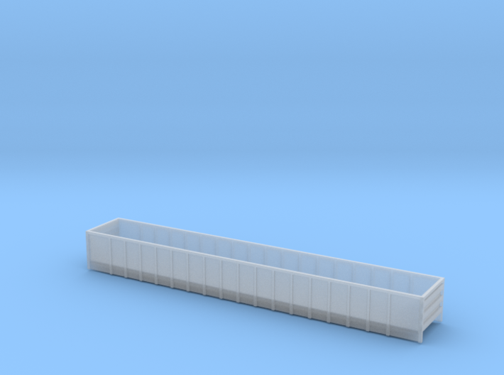 66 foot FCA Mill Gondola - Z scale 3d printed