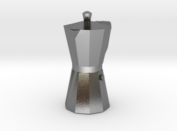 Italian Coffee maker pendant 3d printed Add a caption...