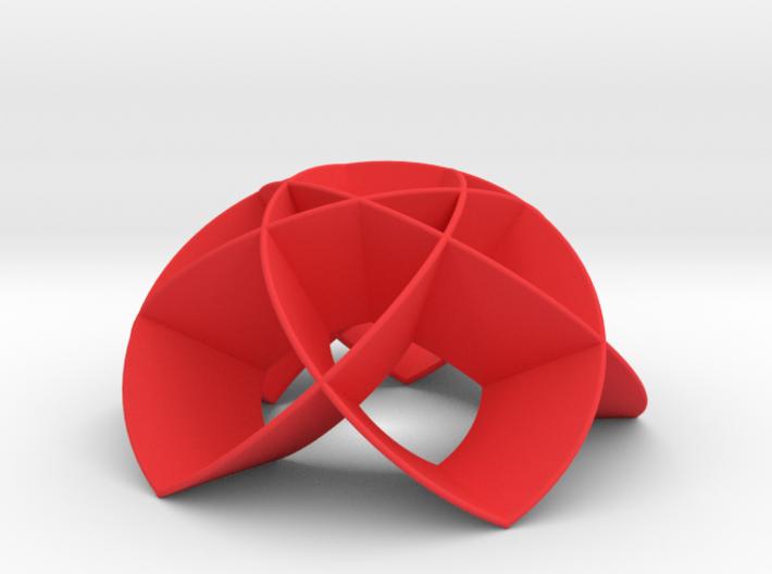 Flower Dome 5b (thin) 3d printed