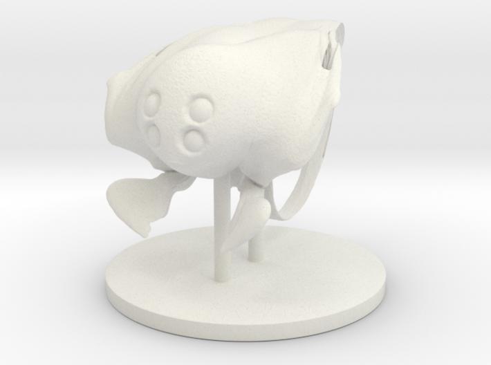 Burly Sea Creature 3d printed