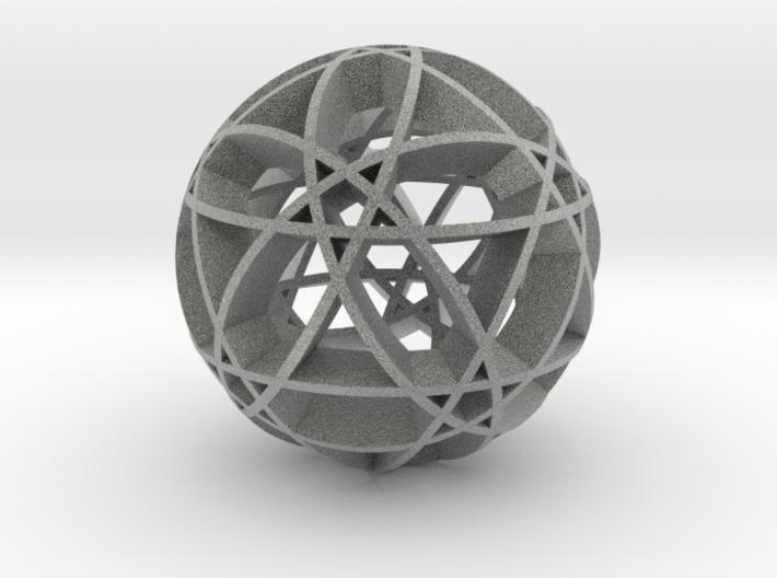 Pentragram Dodecahedron 2 3d printed