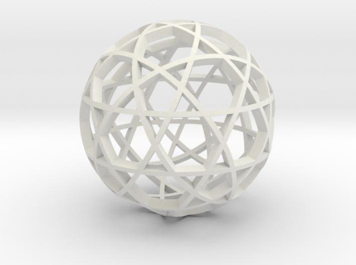 Dodecahedron Ball (narrow) 3d printed