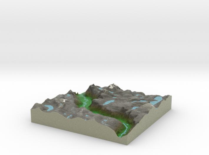 Terrafab generated model Sat Apr 05 2014 00:12:42 3d printed