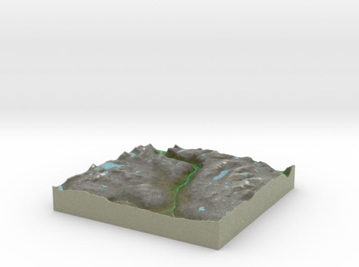 Terrafab generated model Sat Apr 05 2014 21:04:29 3d printed