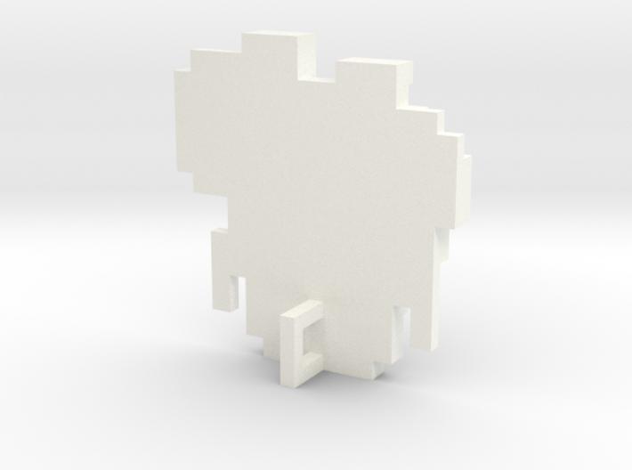 Link 8 Bit Charm 3d printed