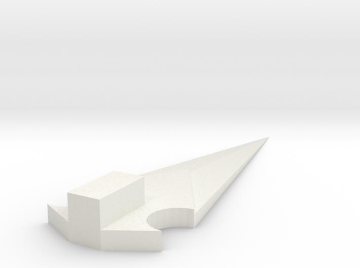 TFPRIME DLX FE MEGS BLADE 3d printed