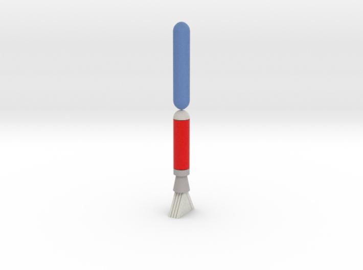 Rocket- Aquarius I Components (1/17.5th, mm) 3d printed