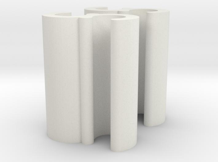 Cord Grip Clip - Pair 2mm 3d printed