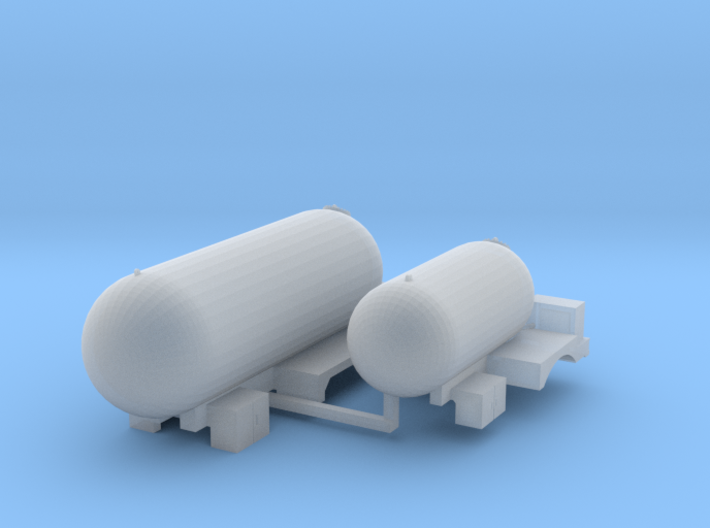 Propane Truck Bodies 3d printed