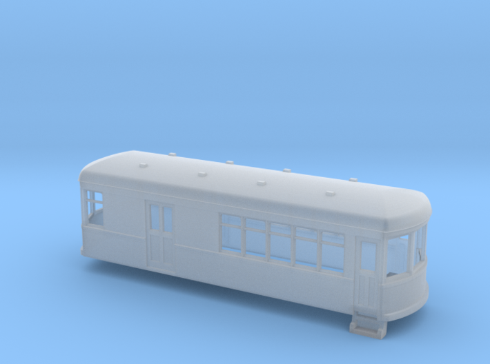 N gauge short trolley combine no2 3d printed