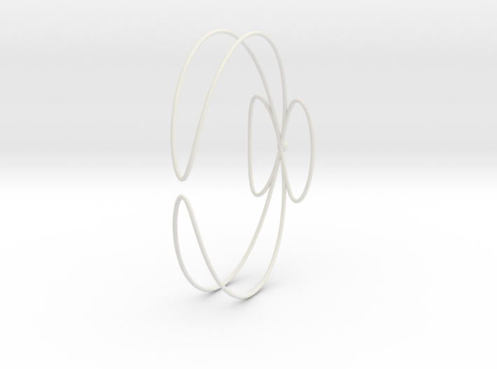 Conchoid Bangle 3d printed