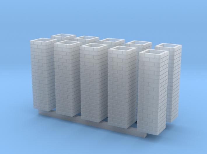 Double Brick Pier HO X 10 3d printed