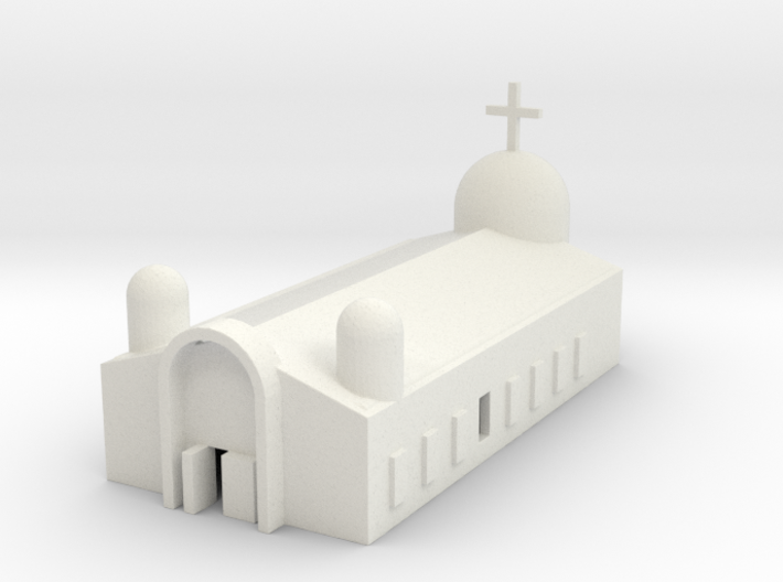 1/700 Church (Eastern Orthodox) 3d printed