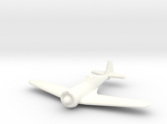 1/144 Curtiss-Wright CW21 B 3d printed