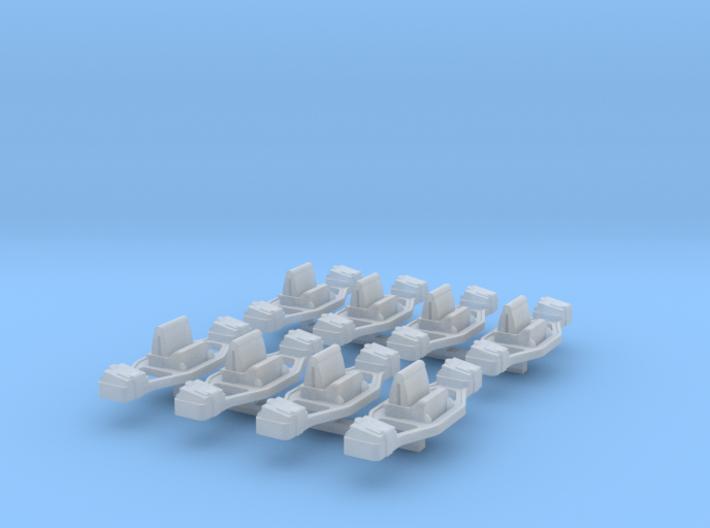 N-Scale 'Bettendorf' Tender Truck Frame (Detail Pa 3d printed
