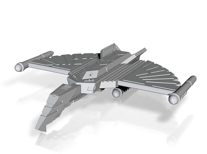 Fire Hawk Cruiser - round nacelles 3d printed