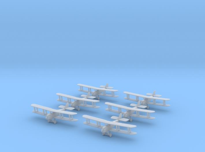 1/350 Airco D.H.9 (x6) 3d printed