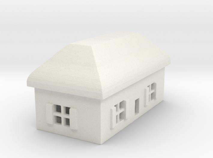 1/700 Villiage House 5 3d printed