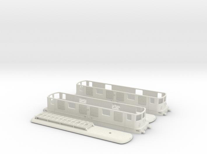 BLS Ae 4/4 251 - 1/100 Duopack 3d printed