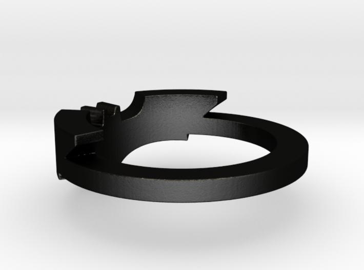 BATMAN ring size 12 3d printed