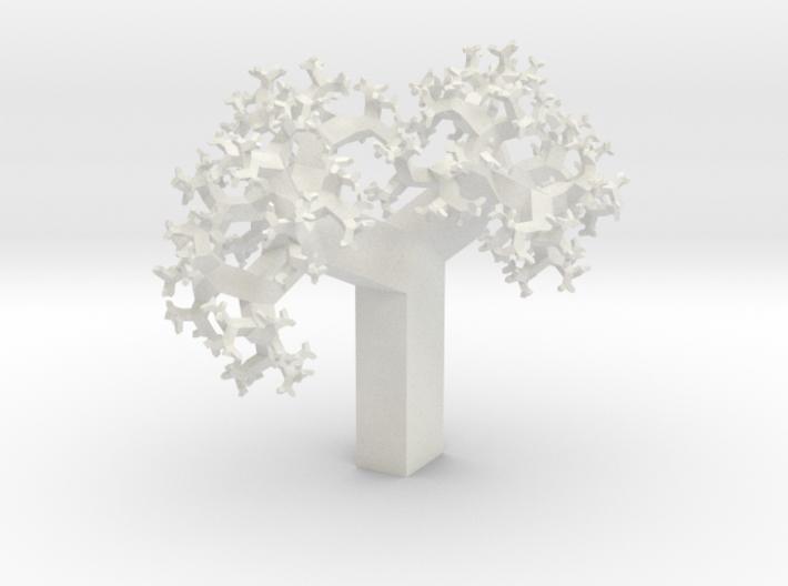 Skew Fractal Tree (Wild) 3d printed