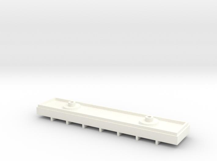 Metropolitan 'Rigid 8' Test Chassis/Interior Block 3d printed